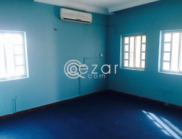 Studio family room villa portion available in Al Dafna for rent in Qatar