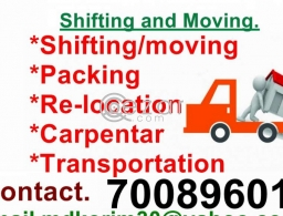 Shifting service for sale in Qatar