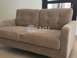 Beige 2 seater sofa for sale in Qatar