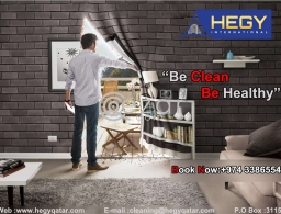 Be CLEAN Be Healthy Call us in Qatar
