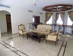 Furnished 4-Bedroom Villa with Amazing Lagoona View for rent in Qatar