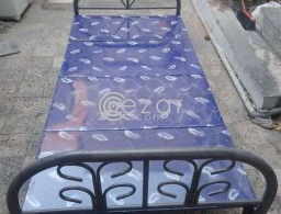 Bed for sale in urjently in neat condition for sale in Qatar