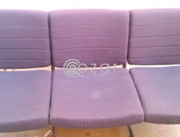 Urgent Sale - 3 Seater Sofa & 3 seating Chair for sale in Qatar