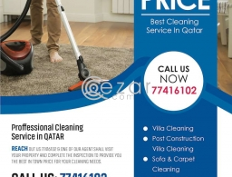 Professional Cleaning Service in Qatar
