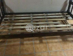 Wooden cot Plywood for sale for sale in Qatar