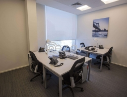 Fully serviced office ready to move in for rent in Qatar
