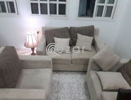 For sale sofa and lamb for sale in Qatar