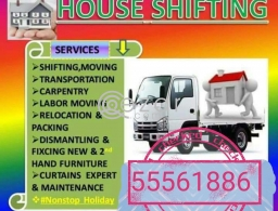 SHIFTING MOVING PACKING CARPENTRY SIRVICES ANY TIME ANY PLACE IF YOU NEED CALL 55561886 in Qatar