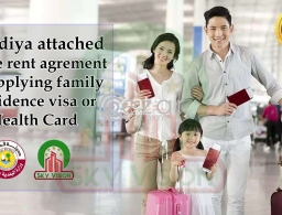 100% Genuine Attested House agreement for Family Residence visa & Health Card in Qatar