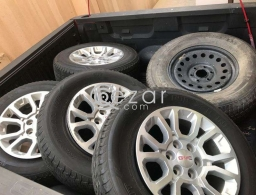 Sierra 2014 Rimms+Tires for sale in Qatar