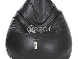 Genuine leather unused bean bags for sale for sale in Qatar