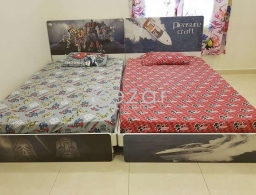 Kids bed rarely used in good condition for sale in Qatar