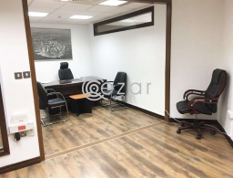 Fully Furnished, 30Sqm 1 Room Office - Corniche for rent in Qatar