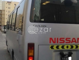 Full Air condition new bus for rent in Qatar
