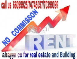 For rent no comishn for rent in Qatar
