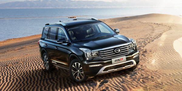 Domasco conducts customer test drive event for GAC Motor latest SUV GS8