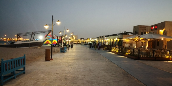 Visitors throng Qatar Street Food Festival