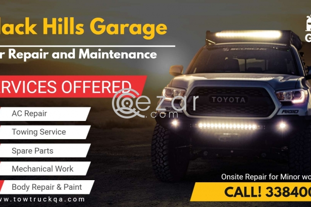 Car repair and service Qatar photo 1