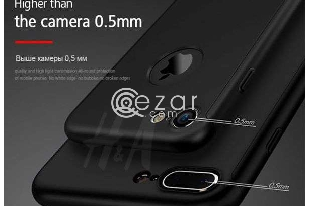 360 Degree Full Protection for iPhone 8 and 8+, Iphone 7 & 7+, IPhone 6 & 6+ With TEMPERED GLASS. photo 4