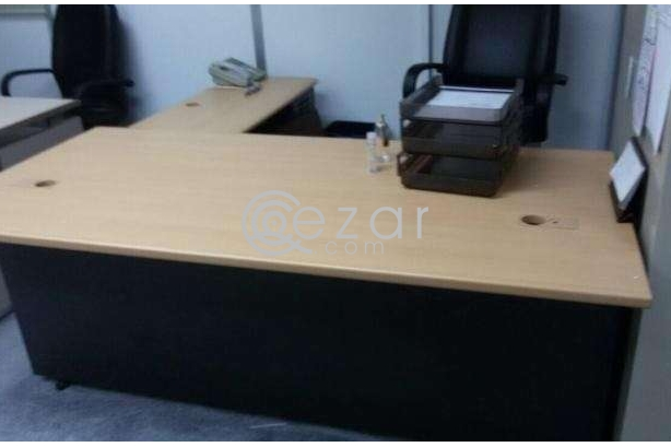 Office table and big trolley for sale photo 2