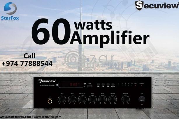 secuview 60 watt amplifier photo 1