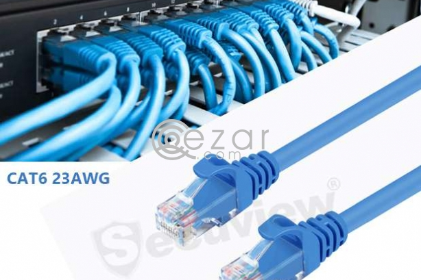 Cat6 Network Cable Patch Cord | 23 AWG, Doha photo 1