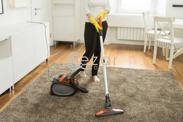 Skilled female and male cleaners staff available photo 2