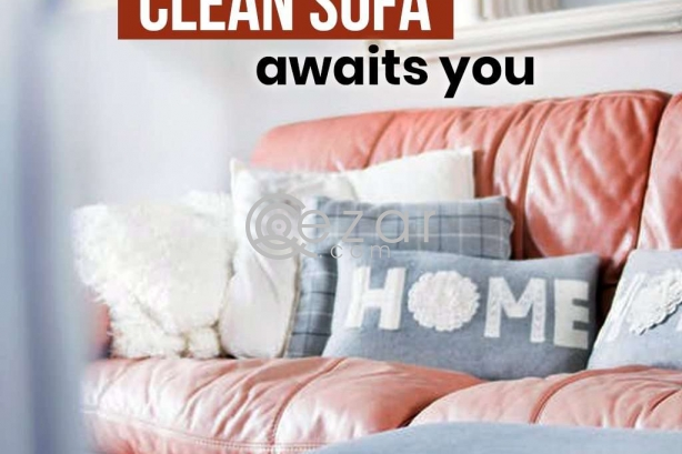 Professional Sofa cleaning company in Doha Qatar photo 1