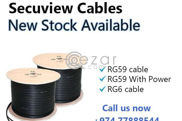 secuview coaxial cables photo 1