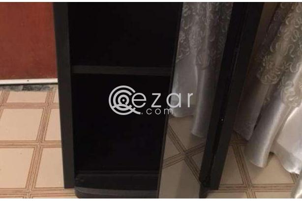 Glass door cabinet- New photo 2