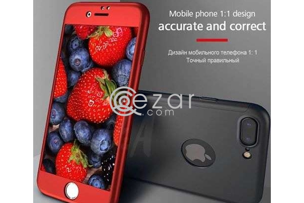 360 Degree Full Protection for iPhone 8 and 8+, Iphone 7 & 7+, IPhone 6 & 6+ With TEMPERED GLASS. photo 6