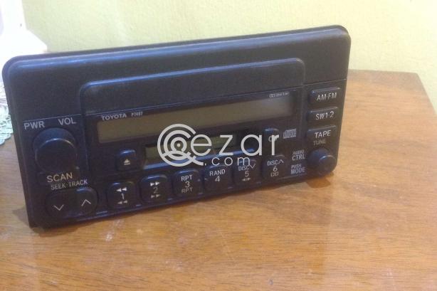 Toyota radio / cassette photo 2