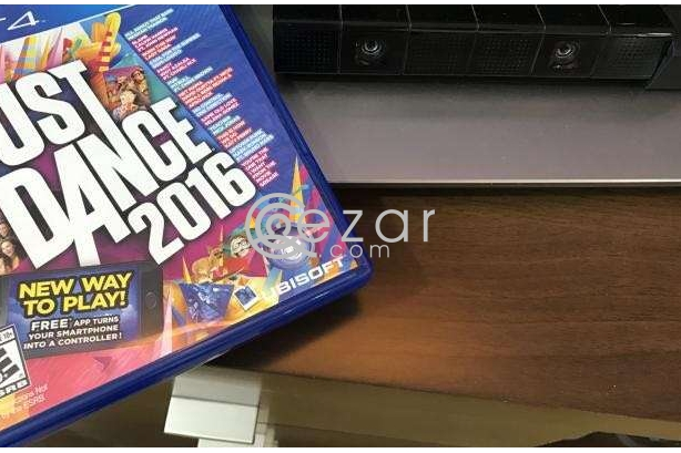 PS4 Just Dance 2016 and Camera photo 1