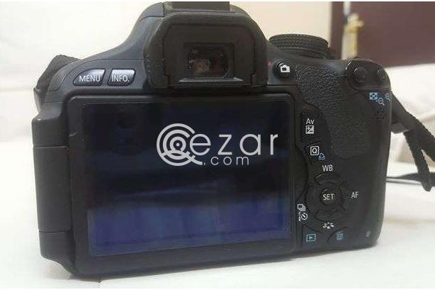 Canon DSLR professional camera model 600d photo 3