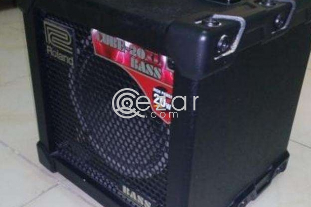 Roland cube bass guitar amp 20w photo 1