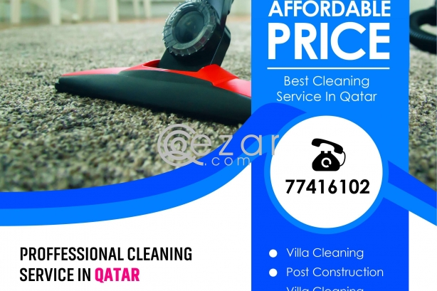 Villa Cleaning, SOFA, CARPET, MATTRESS cleaning Qatar photo 2