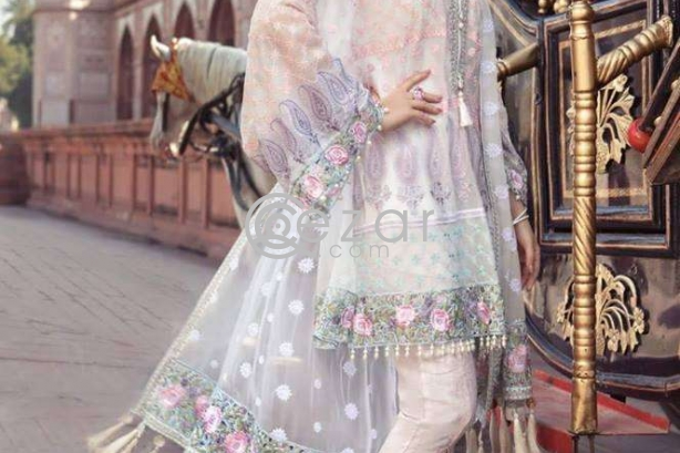 Pakistani Chiffon dress Party Wear photo 1