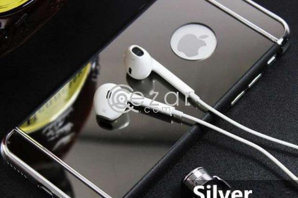 "IPhone 6/6S Plus Case: ""Black-n-Silver"" Combo photo 1"
