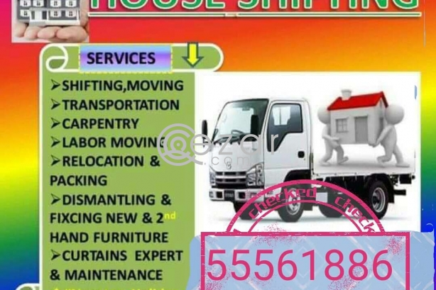 SHIFTING MOVING PACKING CARPENTRY SERVICES ANY TIME ANY PLACE IF YOU NEED CALL 55561886 photo 1