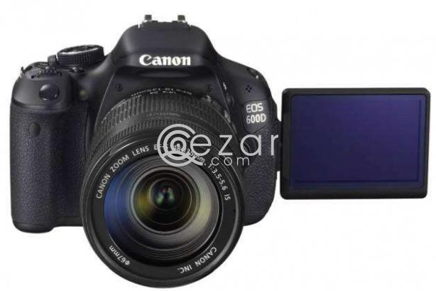 Canon DSLR professional camera model 600d photo 7