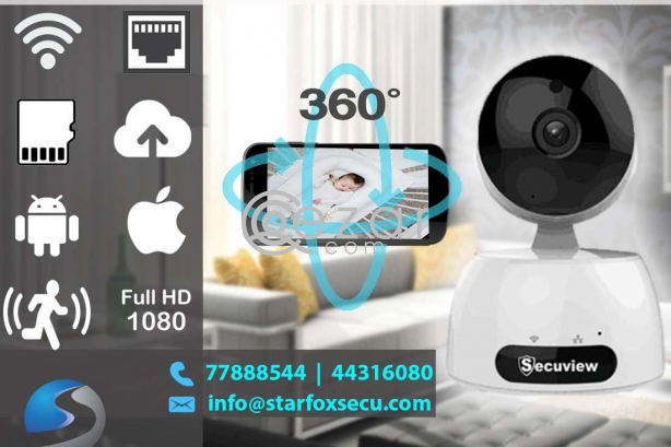 baby care wifi security camera photo 1