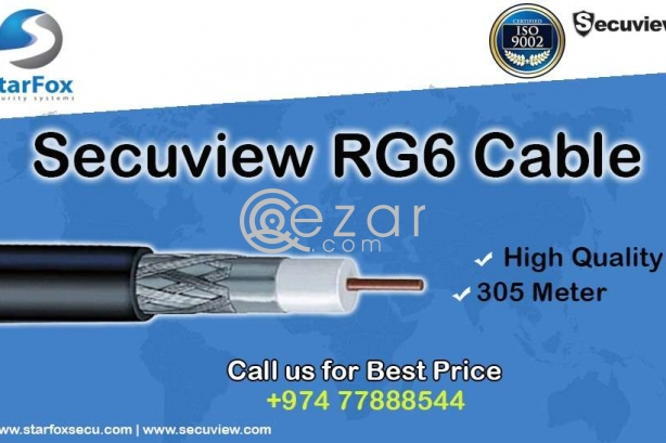 secuview RG6 coaxial cable photo 1