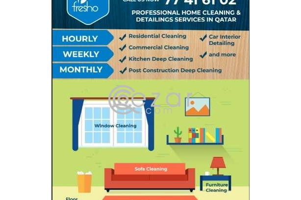 Qatar cleaning service Call us photo 2