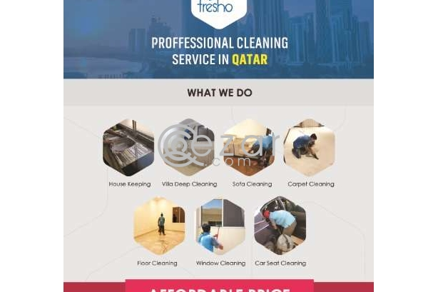 Deep cleaning services Qatar at super price Call us now photo 1