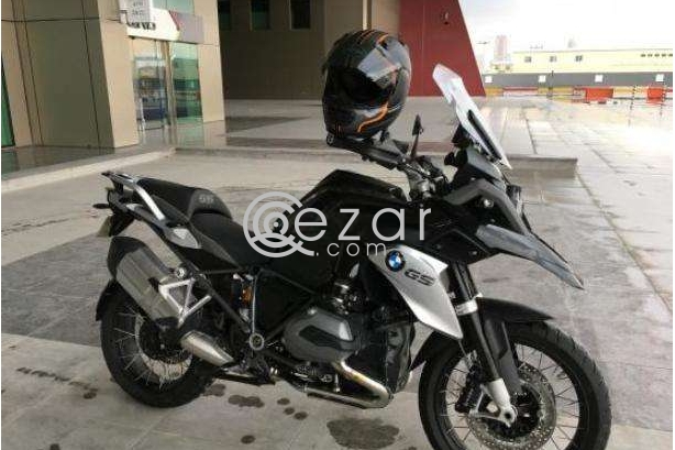 Almost new 2016 BMW R1200 GS Triple Black photo 3