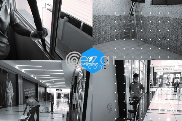 Deep cleaning services Qatar at super price Call us now photo 2