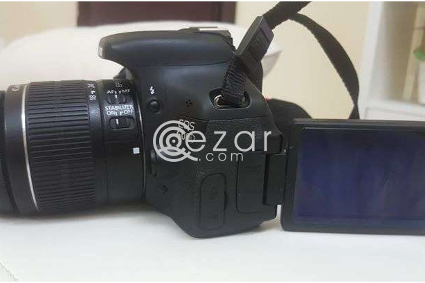 Canon DSLR professional camera model 600d photo 9