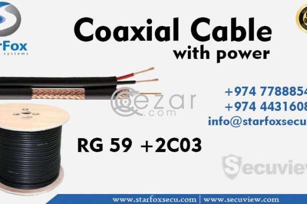 coaxial cable with power photo 1