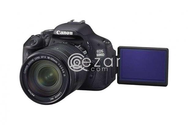 Canon DSLR professional camera model 600d photo 2