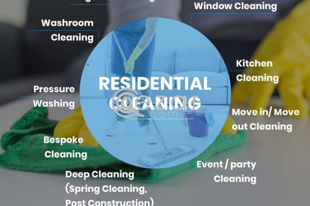 Get Affordable Residential Cleaning Service in Doha, Qatar photo 1